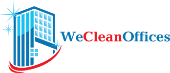 We Clean Offices Logo - Office Cleaning Glasgow