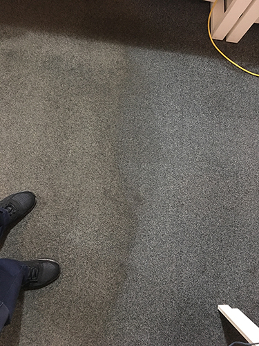 Carpet Cleaning - side by side